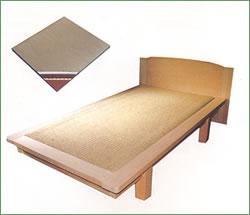 健康軽量畳床使用 「シルク温風檜ベッド」